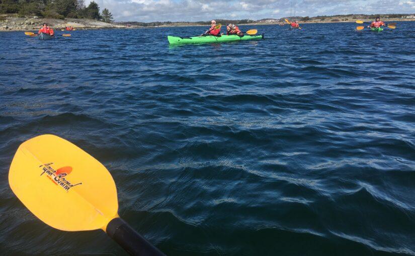 Cayacing in Sweden 2019