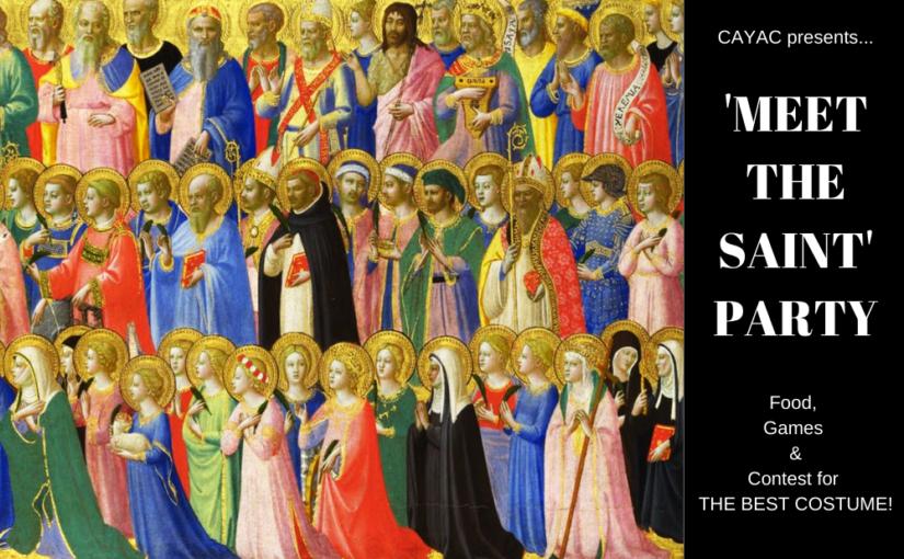 Sunday Agape + All Saints Party